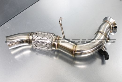 BMW 335d / 535d 286hv downpipe